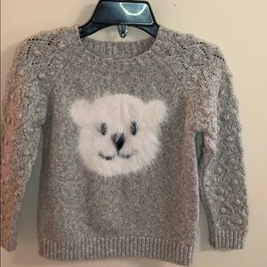 Polar Bear Gray Sweater